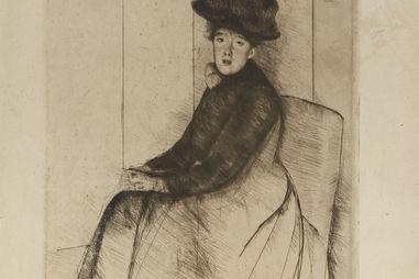 Mary Cassatt, American, 1844–1926 Reflection 1890