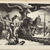 Thomas Hart Benton, American, 1889–1975 Jesse James, from the Missouri State Capitol Series 1936