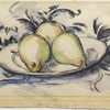 Paul Cézanne, Three Pears, c. 1888-90. The Henry and Rose Pearlman Collection. Photo: Bruce M. White