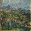 Detail of Mont Sainte-Victoire by Paul Cézanne. Photo: Bruce M White