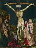 MatthiasGrünewald German, ca. 1475/80–1528 The Small Crucifixion, ca. 1511/1520 Oil on panel 49.06 x 59.06 x 2.54 cm National Gallery of Art, Washington D.C., Samuel H. Kress Collection 1961.9.19