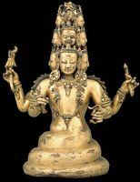 Rahula Tibet, 15th century Bronze Rubin Museum of Art C2003.7.2
