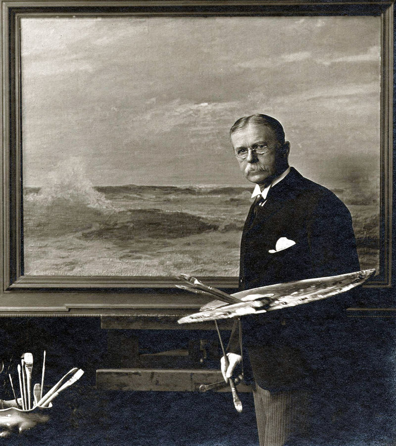 Unidentified photographer Howard Russell Butler, ca. 1920 Black and white photographic print Archives of American Art, Smithsonian Institution