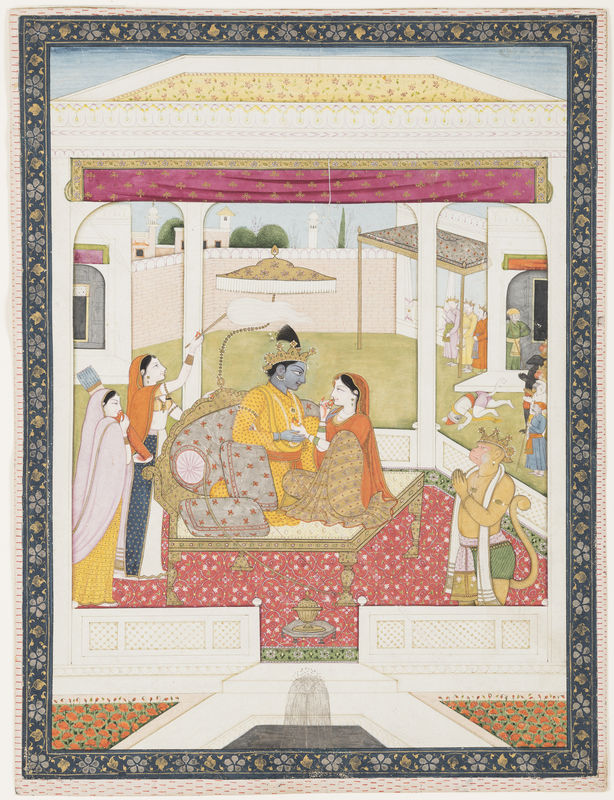 Epic Tales From India Paintings From The San Diego Museum Of Art - Ancient indian literature