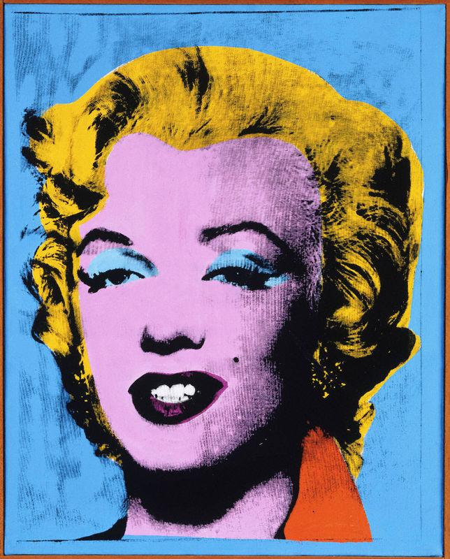 Blue Marilyn (y1978-46)   Princeton University Art Museum